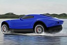Auto Des Russes inventent la voiture aéroglisseur