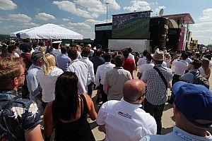 Automovilismo francés festeja titulo mundial de futbol