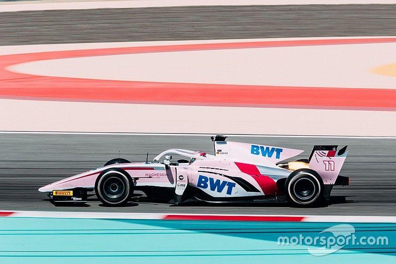 Maximilian Günther Schnellster beim Formel-2-Test in Bahrain