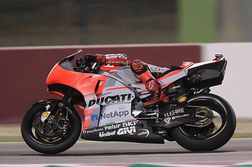 Лоренсо: Мне пришлось прыгать с мотоцикла, чтобы не врезаться в стену