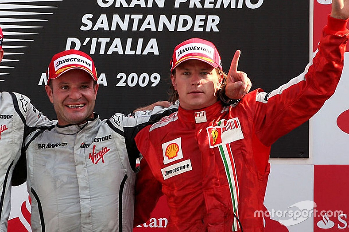 バリチェロ、自らのF1最多出走記録に並んだライコネンを祝福「今度乾杯しよう!」