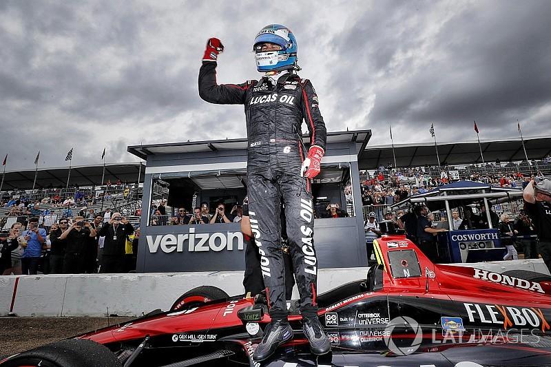 IndyCar St. Petersburg 2018: Überraschungs-Pole für Wickens
