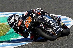 Lowes y Martín, lo más rápidos en los test de Jerez