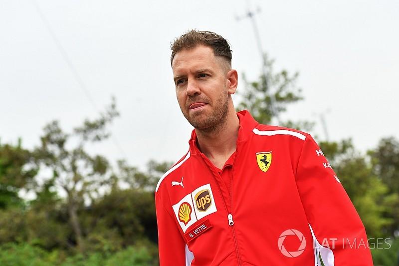 """Vettel juge """"absurde"""" de penser à l'écart de points avec Hamilton"""
