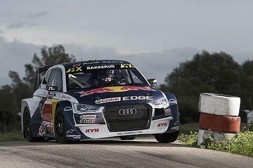 Gundersen w Audi S1 Supercar