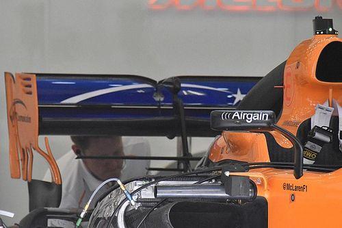McLaren: la gear wing è il primo aggiornamento della MCL33
