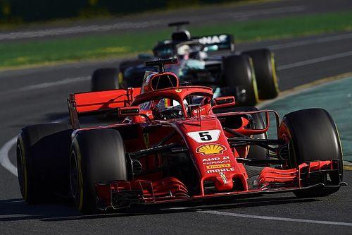 Mercedes verwacht geen schade bij motor Hamilton