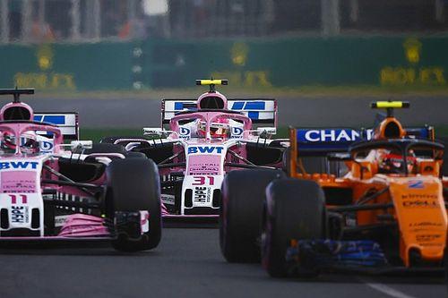 """A Force India és az ausztrál nullázás: """"Szinte lehetetlen volt előzni..."""""""