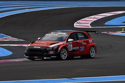 Nicola Baldan firma la pole position sulla Hyundai a Le Castellet