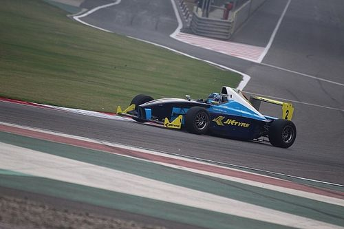 Buddh JK Tyre: Reddy inches closer to title with Race 2 win