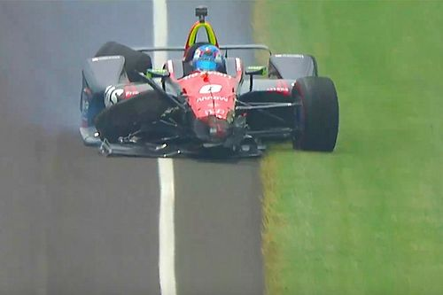 Indy 500: Wickens shunts in final practice
