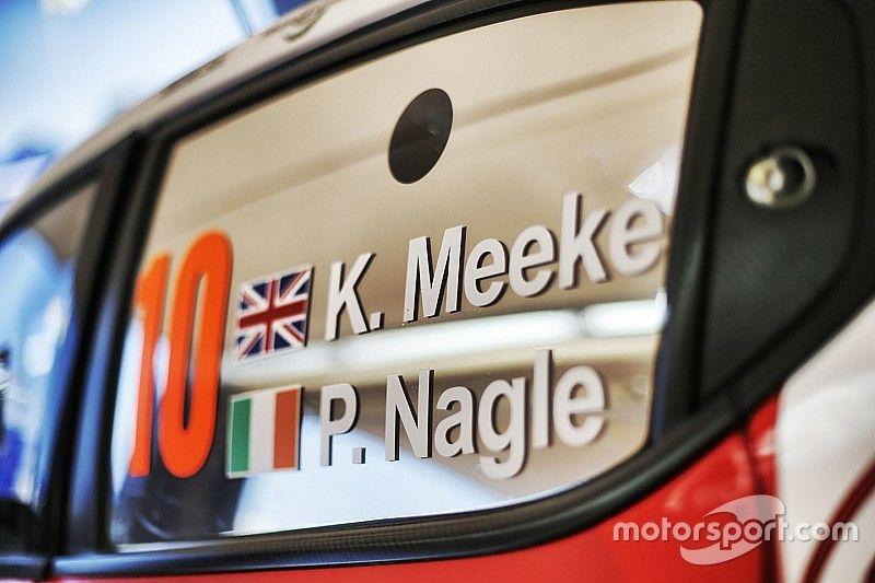 Meeke splits with co-driver Nagle