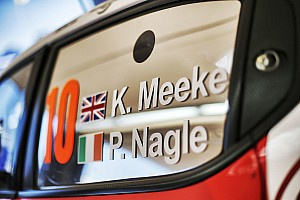 Meeke splits with co-driver Nagle