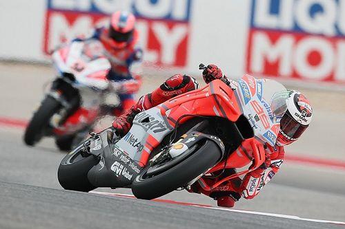 Twijfel bij Ducati over GP18 na matige races in Argentinië en Austin