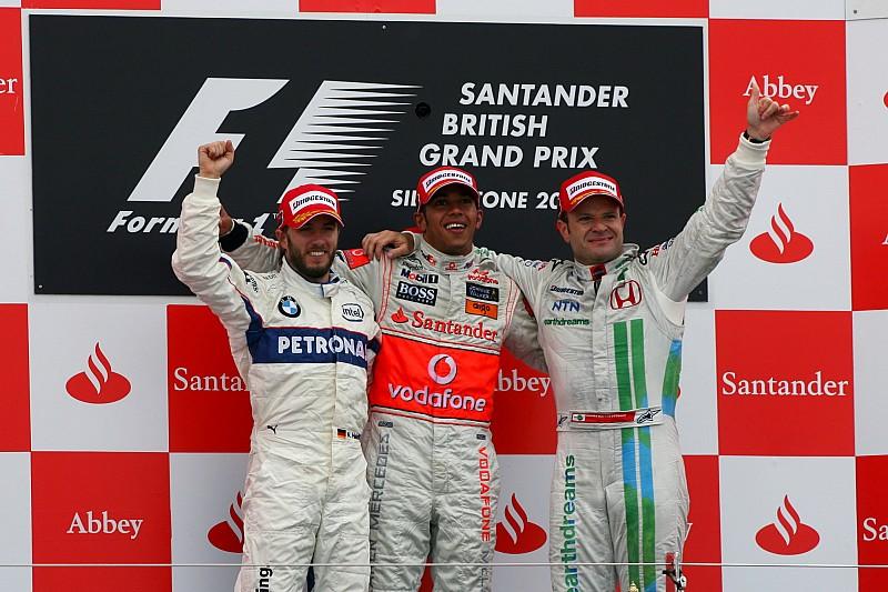 GALERIA: Os últimos vencedores do GP da Grã-Bretanha