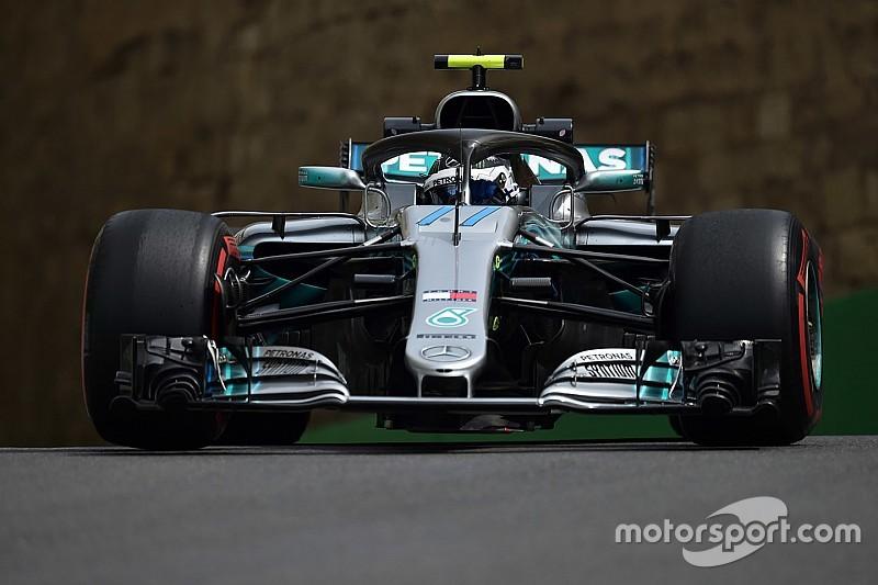 FP1 GP Azerbaijan: Bottas memimpin, Verstappen kecelakaan