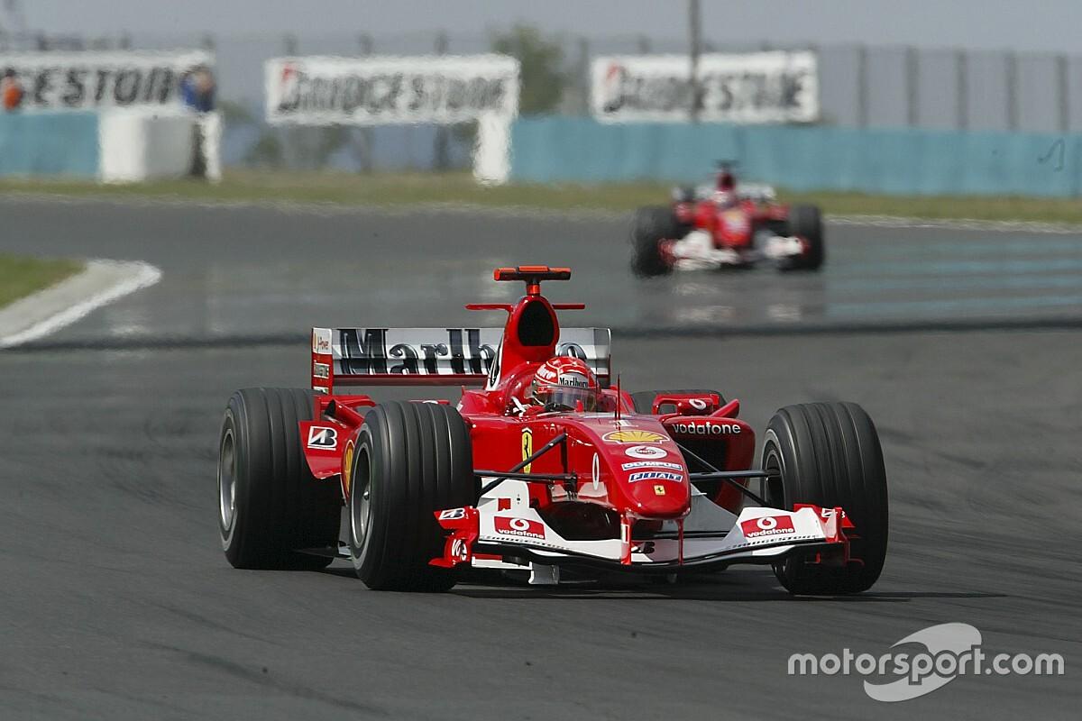 Mercedes supera un récord de Ferrari