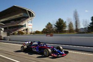 トロロッソ・ホンダの動向は? F1合同テスト2日目ライブタイミング