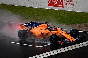 Fotogallery: le immagini della McLaren MCL33 nei test di Barcellona