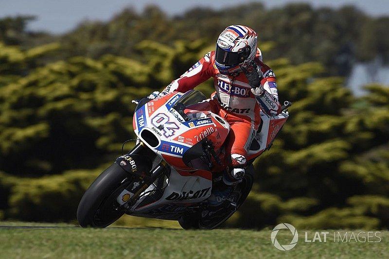 """Dovizioso denkt aan podiumplek: """"De race wordt een ander verhaal"""""""