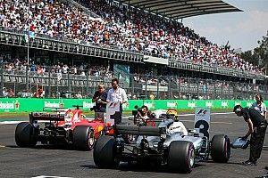 La grille de départ mise à jour du GP du Mexique