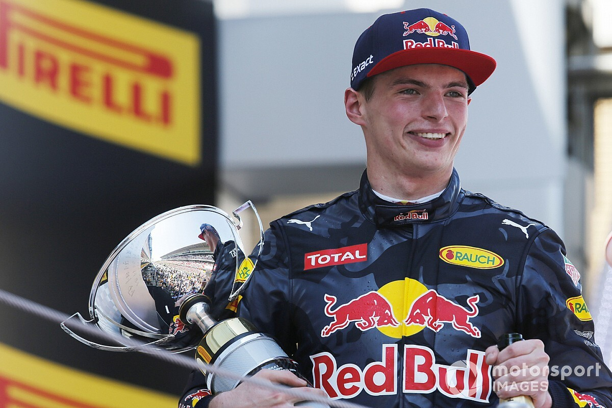 ¿Dónde está Verstappen después de 100 carreras en F1?