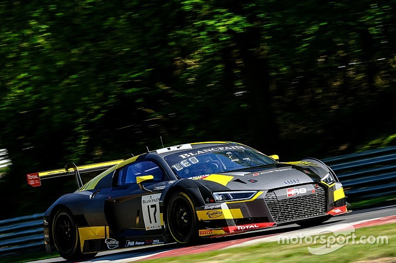 WRT Audi domineert Blancpain Sprint Cup op Brands Hatch