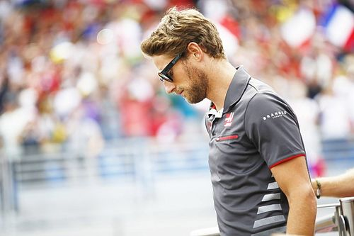 "Haas: Bad luck ""pouring"" on point-less Grosjean"