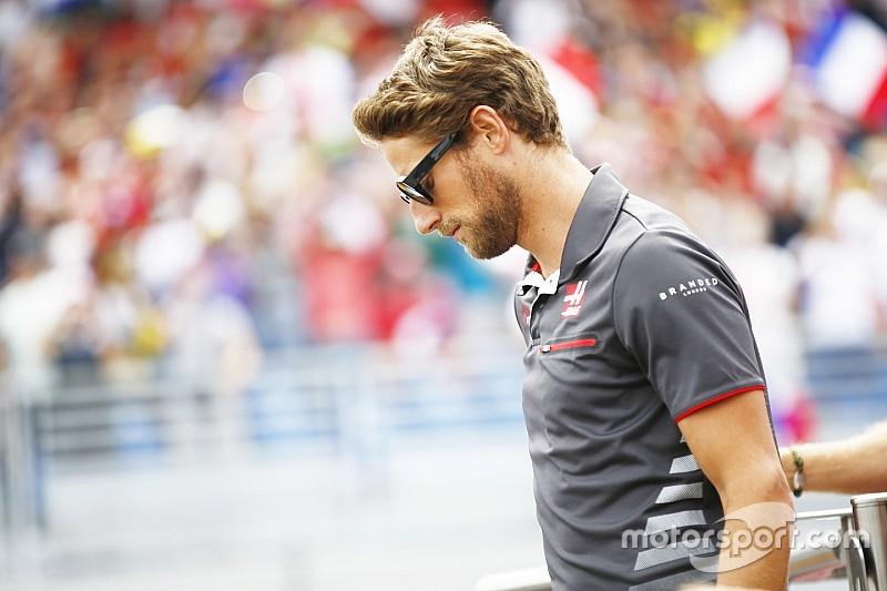 """Haas: la mala suerte """"le pega"""" a Grosjean"""