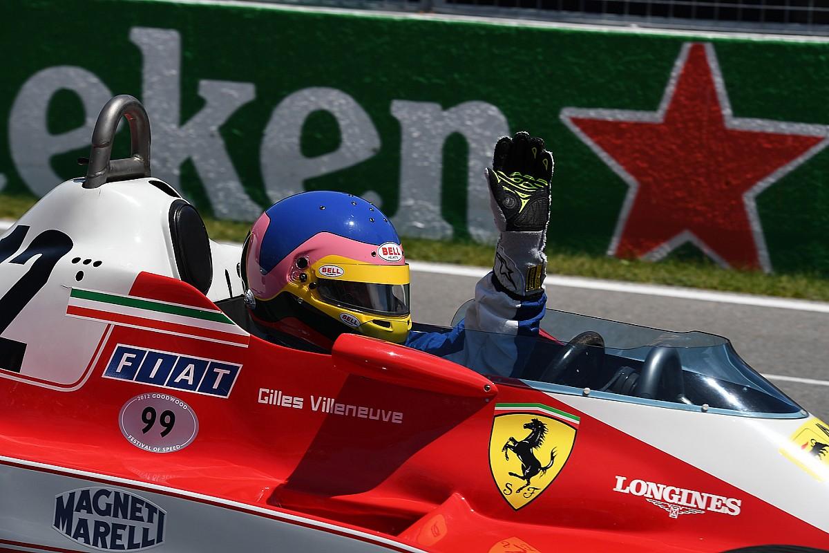 Jacques Villeneuve megható köre legendás édesapja Ferrarijával Kanadában