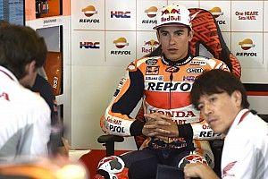 Tercecer, Marquez tidak nyaman dengan motornya
