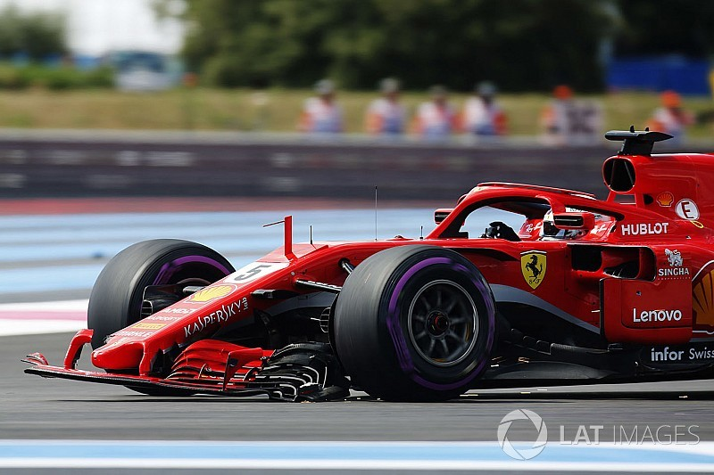 "Vettel says he had ""nowhere to go"" in Bottas crash"