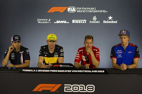 German GP: Thursday's press conference
