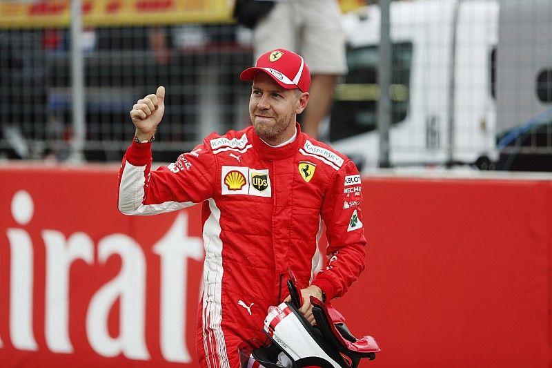 "Vettel: ""Foi uma pena ver Hamilton sair"""