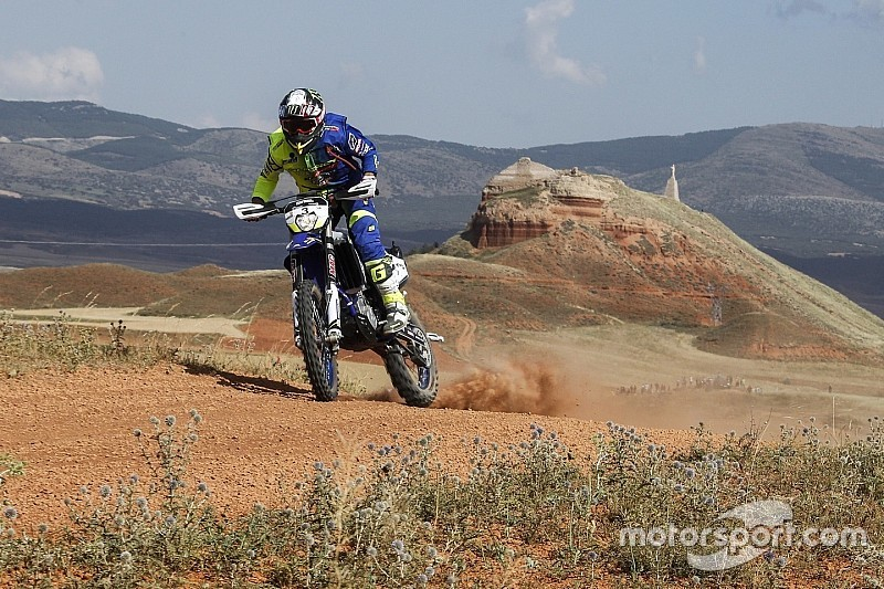 Baja Aragon: Sherco TVS tops Day 1, Santosh 20th