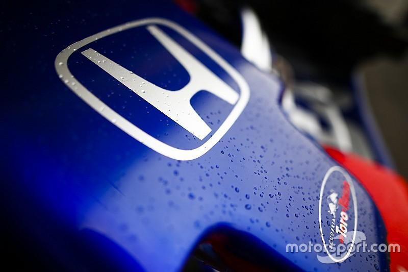 Eerste geluid van Honda-motor 2019 dankzij Toro Rosso
