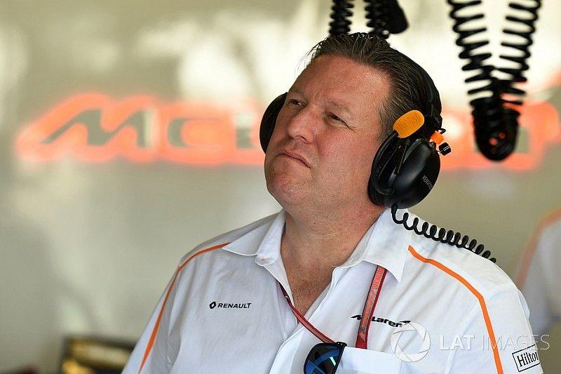 Zak Brown toma el rol de CEO de McLaren F1