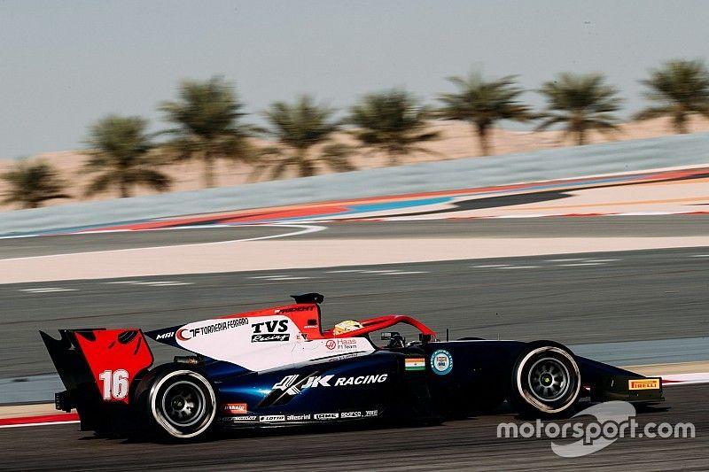 Maini quickest on second Bahrain F2 test day