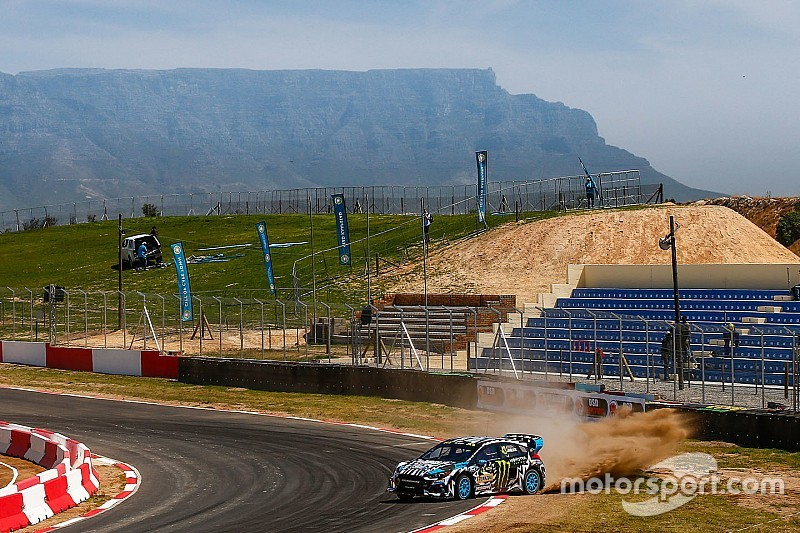 Güney Afrika WRX: Block, takımının son yarışında günü lider kapadı
