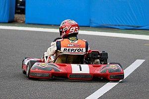 "Márquez: ""Nunca competiré en coches, aunque sería divertido probar"""