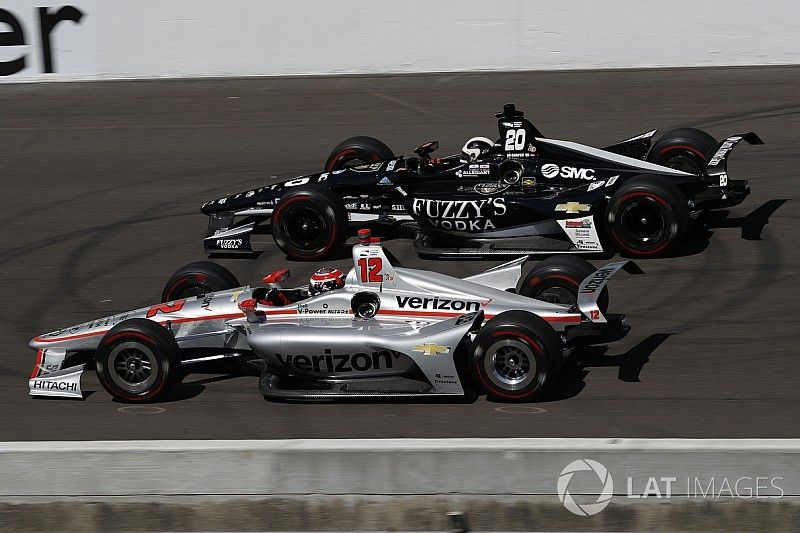 Carpenter rues missed chance to attack Power for Indy win