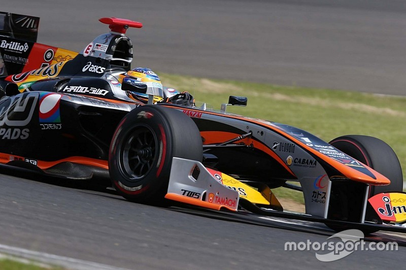 Motegi Super Formula: Ishiura grabs pole by 0.051s