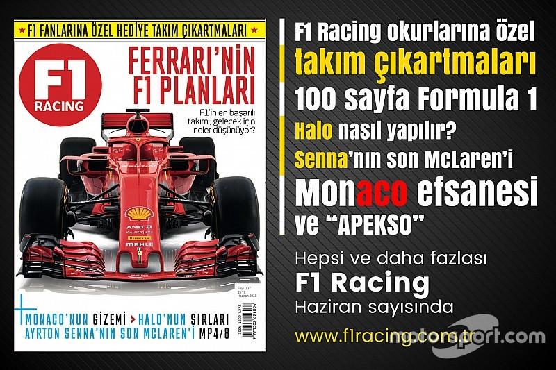 F1 Racing'in yeni sayısı satışa çıktı