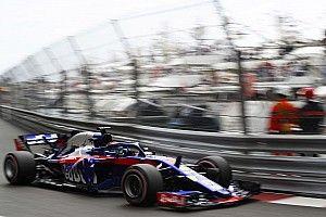 モナコFP1速報:リカルドが首位発進。トロロッソはハートレー12番手