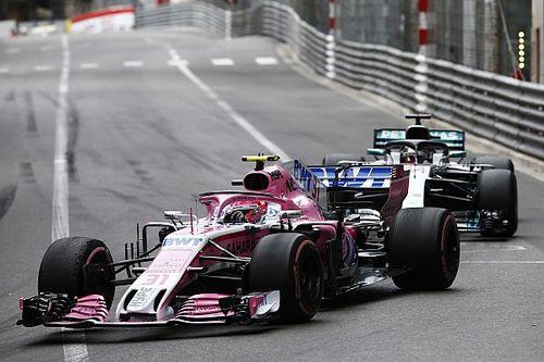 Force India niega que haya querido ayudar a Mercedes en Mónaco