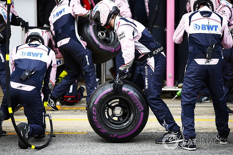 Performance deltas revealed for F1 2018 tyre compounds