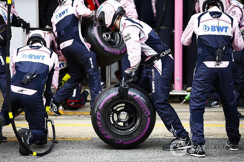 Pirelli назвала разницу в скорости между составами шин 2018 года