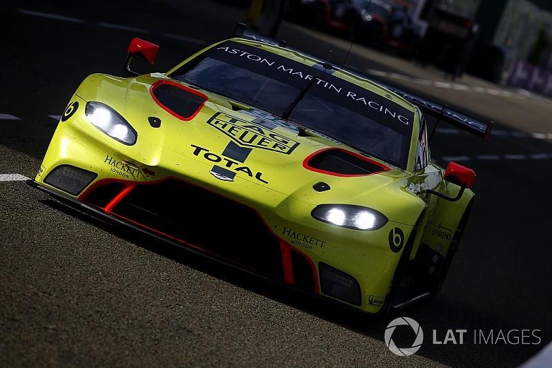 Sørensen a détruit l'Aston Martin dans son crash au Mans