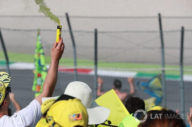 GALERI: Aksi sesi balapan MotoGP Italia