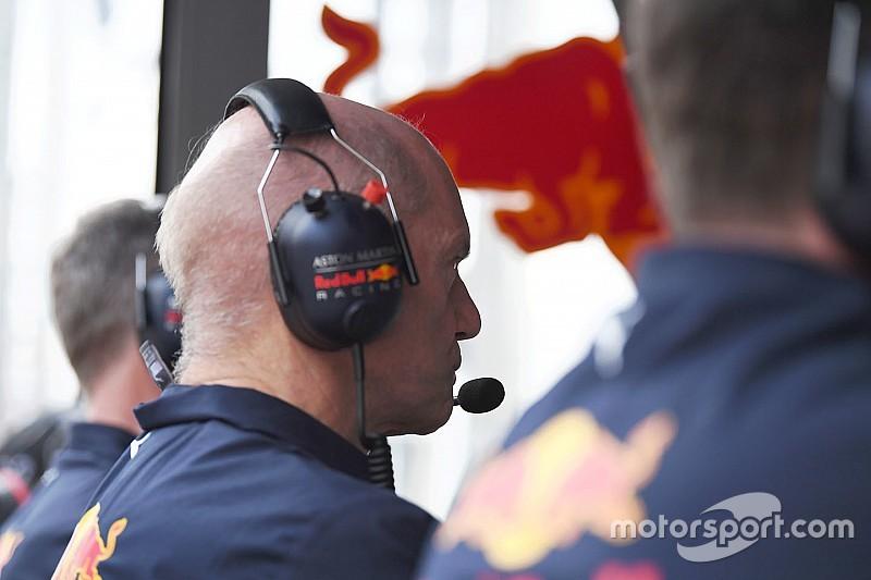 Ньюї став більше працювати над машиною Red Bull
